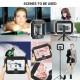 Professional LED Video Light For Mobile Smartphone Studio Camera