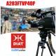 Custom Diat ASL40 Tripod Kit With TVP40 Fluid Head With +U Shaped