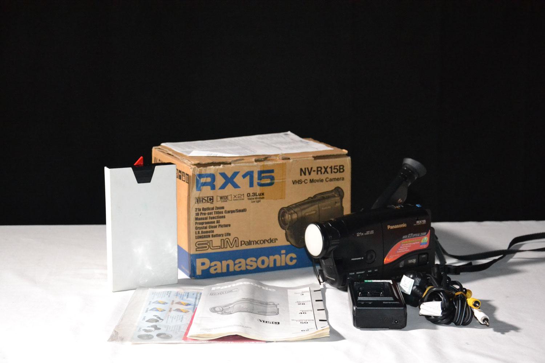 Vintage Panasonic Nv Rx15b Vhs C Camcorder Boxed
